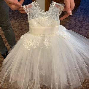 Infant flower girl dress